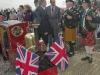08 Duke of Kent & pipers